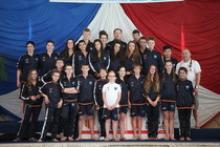 CHAMPION DE FRANCE NAGE AVEC PALMES